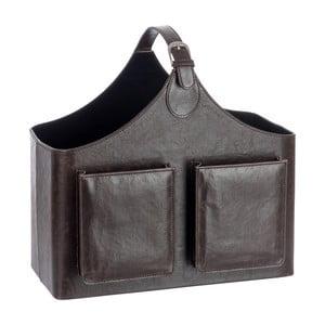 Stojak na czasopisma Leather