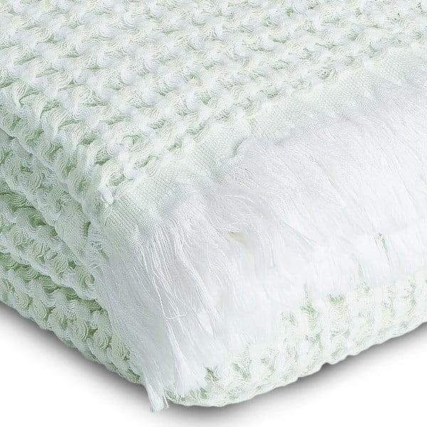Ręcznik Whyte 65 x 100 cm, biało-miętowy