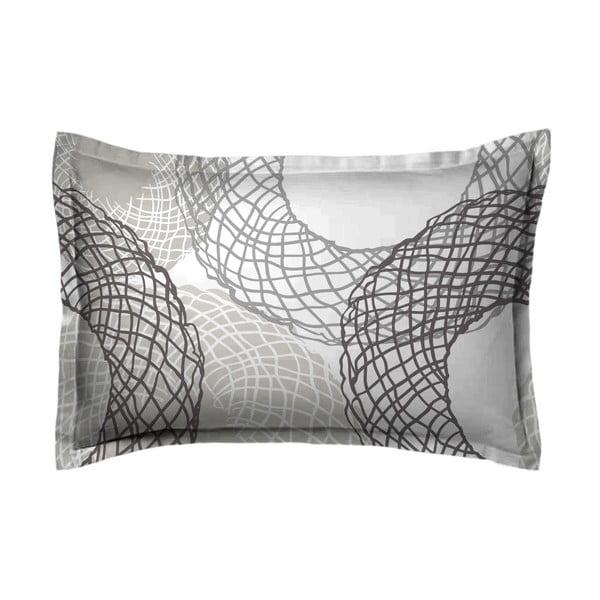 Poszewka na poduszkę Mimbre Gris, 70x90 cm