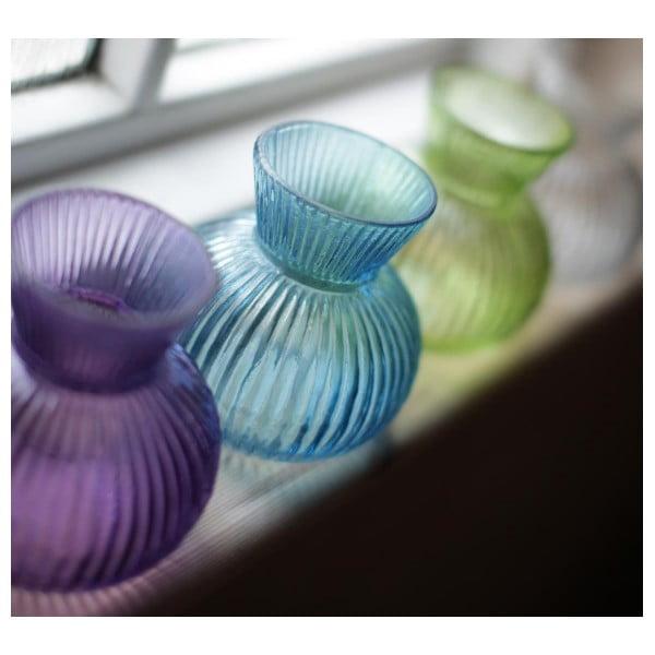 Szklany wazon Inka, fioletowy