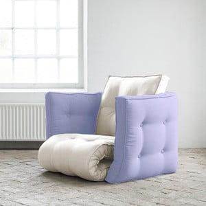 Fotel rozkładany Karup Dice Vision/Blue Breeze