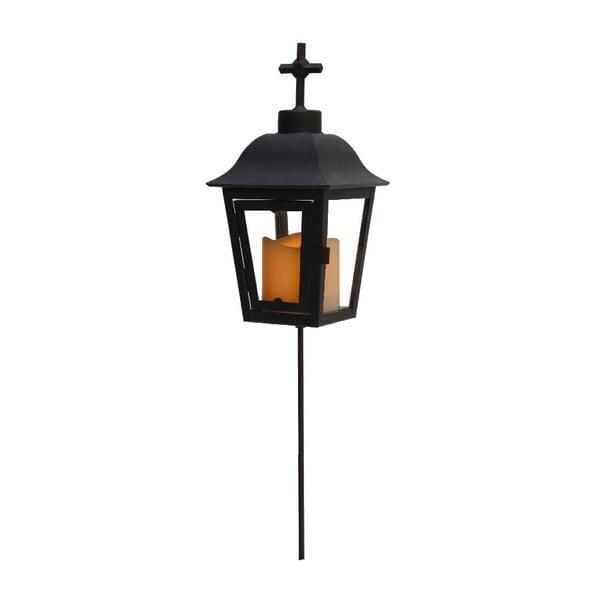 Lampion ogrodowy LED z wymienianą końcówką Best Season Black Ball