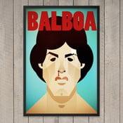 """Plakat """"Balboa"""", 29,7x42 cm"""