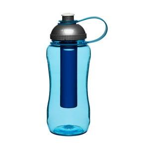 Niebiesk butelka z wkładem chłodzącym Sagaform