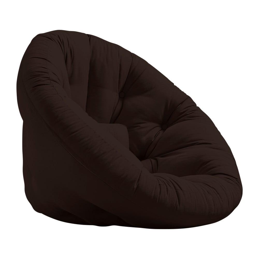 Fotel rozkładany Karup Design Nido Brown Ballo