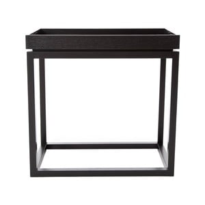 Czarny stolik NORR11 Theo