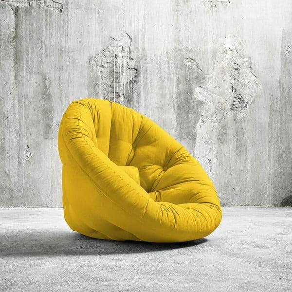 Fotel rozkładany Karup Nido Amarillo