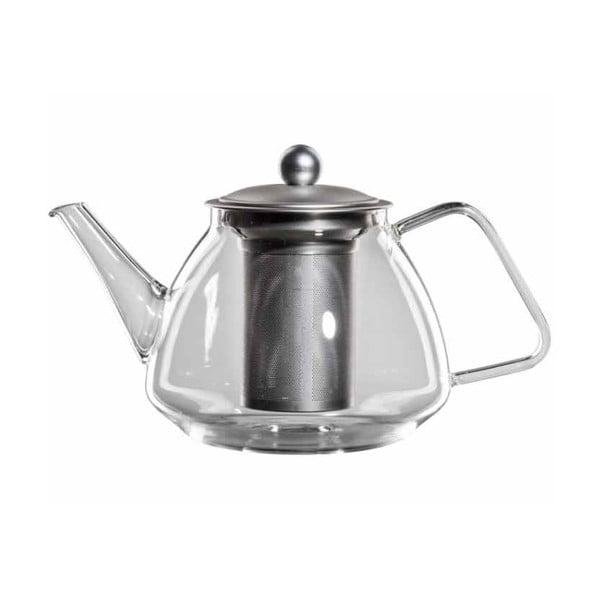 Szklany   dzbanek na herbatę z sitkiem bloomix Kaptee