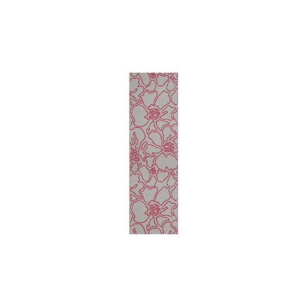 Wytrzymały dywan dwustronny Flou V2, 60x160 cm