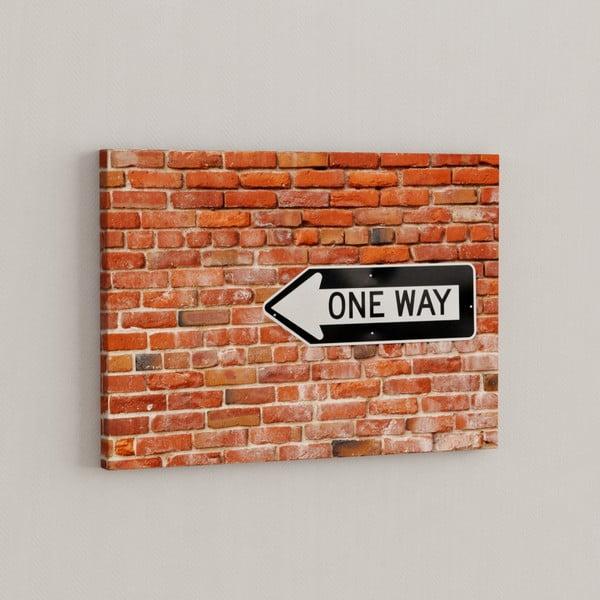 Obraz One Way, 50x70 cm