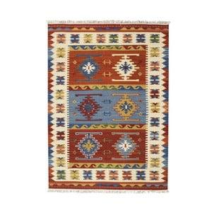 Dywan tkany ręcznie Kilim Ishtar, 75x125 cm