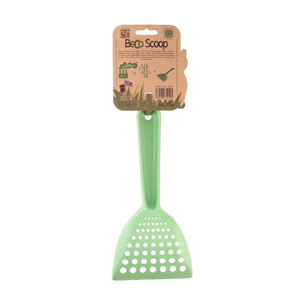 Łopatka do kuwety Beco Scoop Litter, zielona