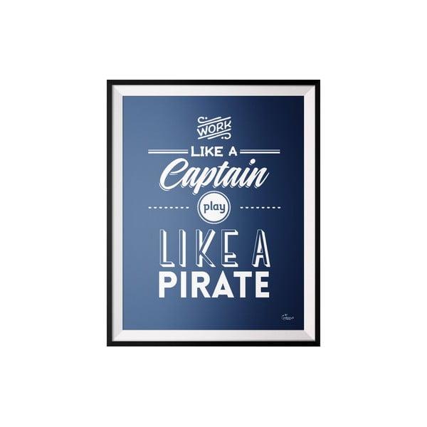 Plakat Captain, 40x50 cm