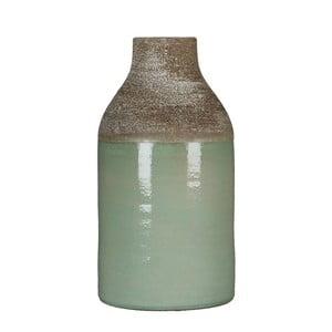 Zielony wazon Mica Belinda, 30x16 cm