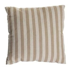 Poduszka Cosas de Casa Stripes, 45x45, beżowa
