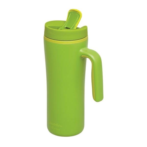 Kubek termiczny Flip Seal s uchem 350 ml, zielony