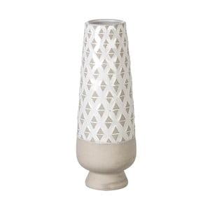 Wazon Goblet Light Grey, 36x13 cm