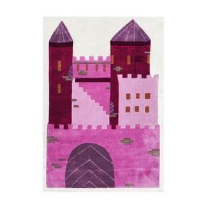 Dywan dziecięcy Happy Rugs Pink Castle, 120x180 cm