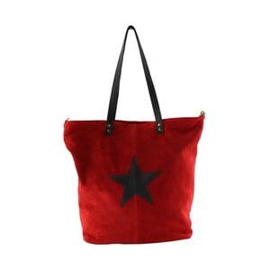 Skórzana torebka Frenze, czerwona