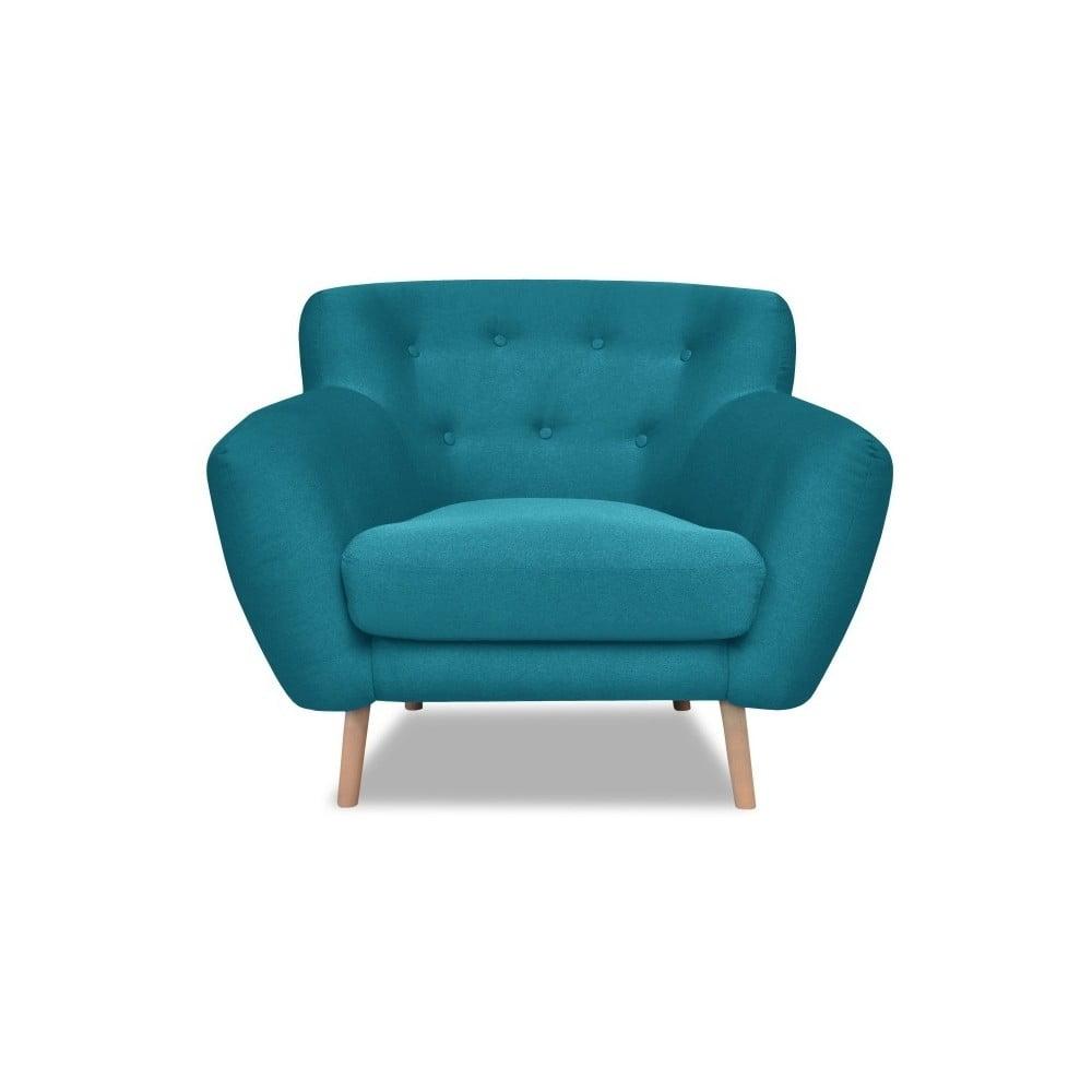 Turkusowy fotel Cosmopolitan design London