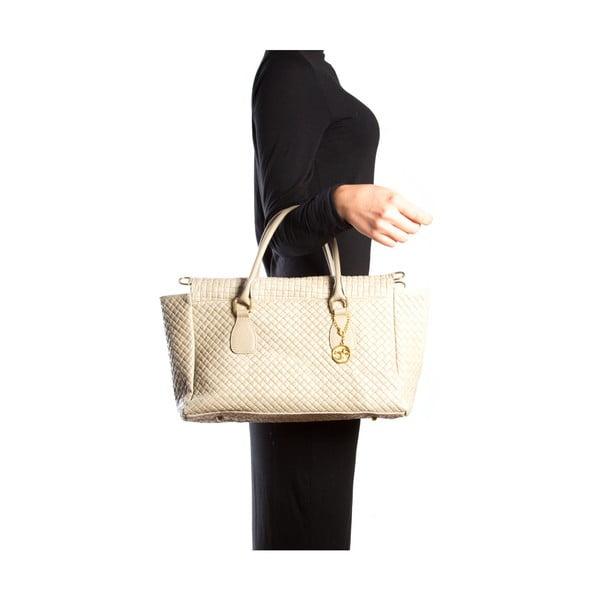 Skórzana torebka Carla Ferreri 8021 Fango