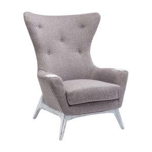 Szary fotel Kare Design Chillax
