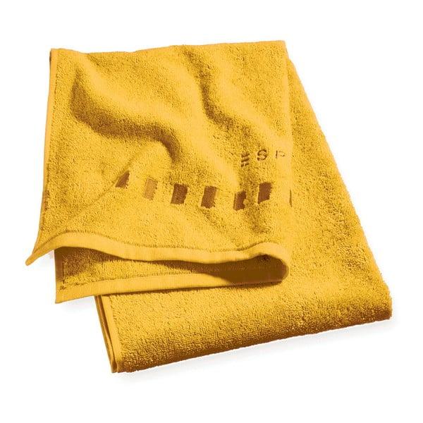 Żółty ręcznik Esprit Solid 35x50 cm