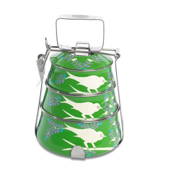 Komplet misek Franjipani Tiffin, zielony