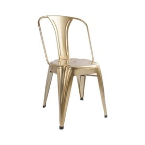 Brązowe krzesło Leitmotiv Dazzle