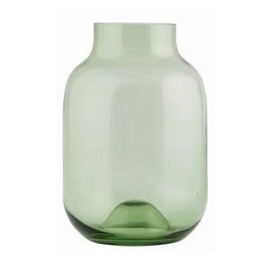 Świecznik Green Glass, 25,4 x 17 cm
