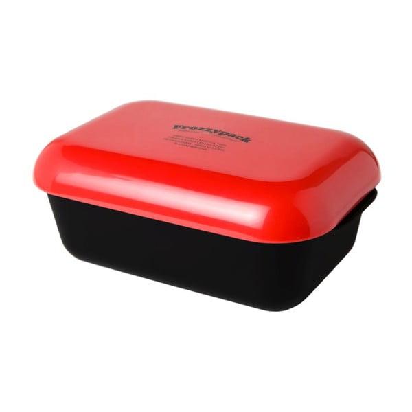 Pojemnik z wkładem chłodzącym Frozzypack Original, black/red