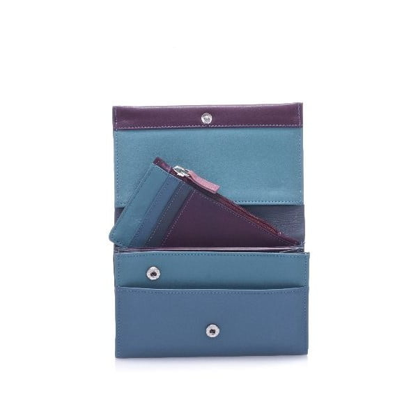 Portfel i etui na karty kredytowe Blue/Purple