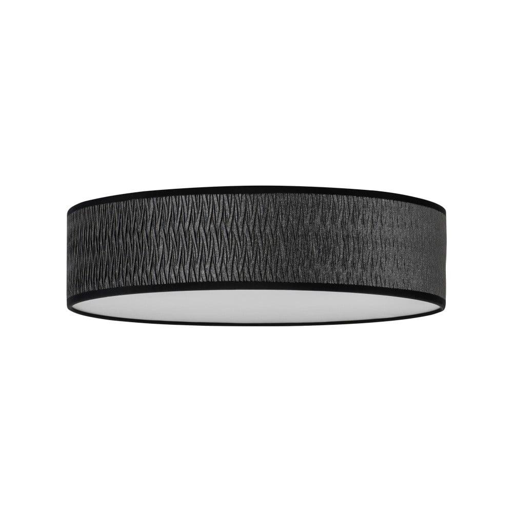 Czarna lampa sufitowa Bulb Attack Once, ⌀ 40 cm