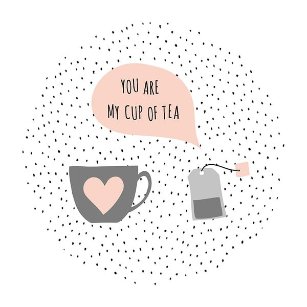 Stolik kawowy Tea Bag In Love