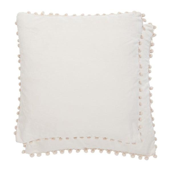 Biała   poszewka na poduszkę Federa 45x45 cm