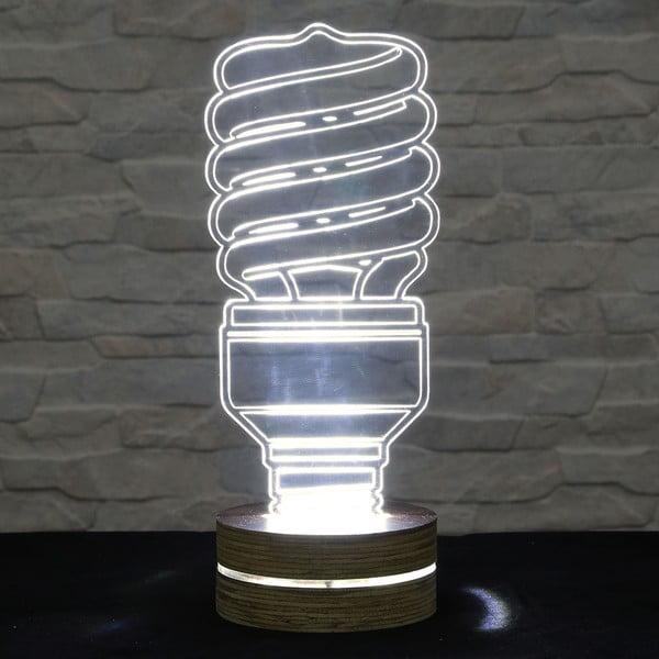 Lampa 3D stołowa Twist