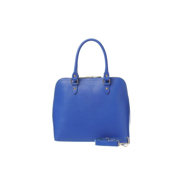 Skórzana torebka Fan Bag Blue