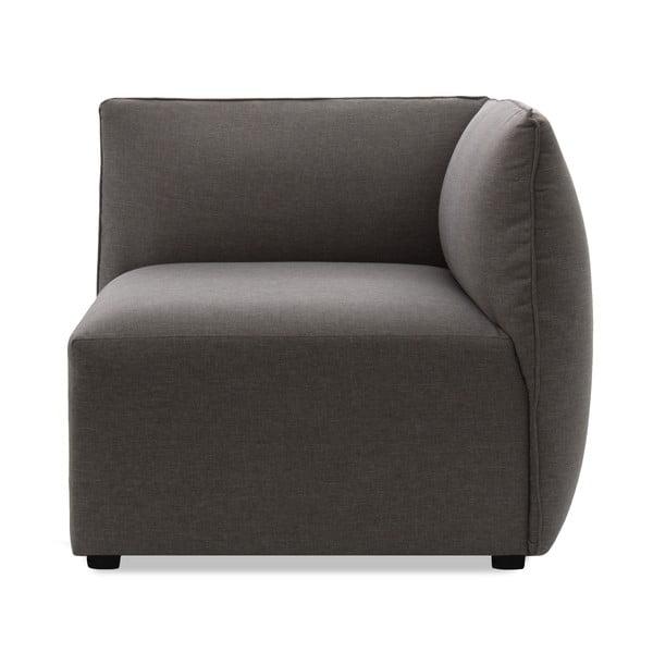 Sofa dwuosobowa VIVONITA Cube Grey z podnogiem