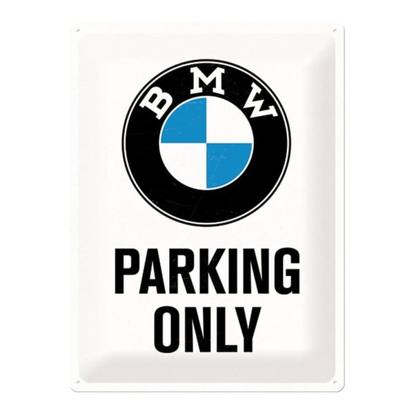Blaszana tablica BMW Parking, 30x40 cm