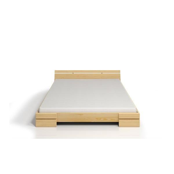 Łóżko 2-osobowe z drewna sosnowego SKANDICA Sparta, 160x200 cm