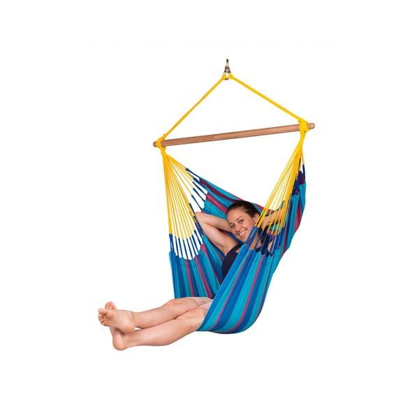 Krzesło-Hamak  Sonrise, niebieski