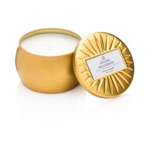 Świeczka o zapachu olejku agarowego, ambry i czarnej paczuli Voluspa Vermeil Decorative, 25godz.