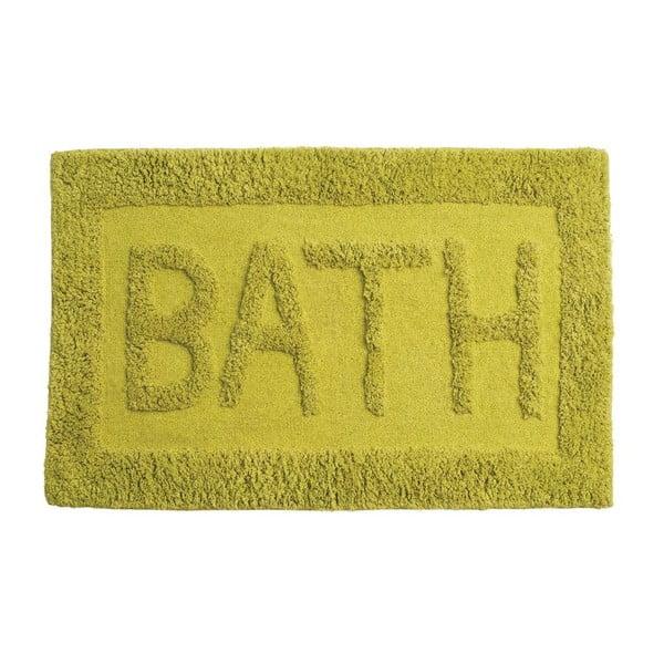 Zielony dywanik łazienkowy Premier Housewares Bath Lime