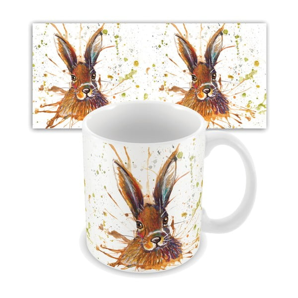 Kubek ceramiczny Wraptious Splatter Hare