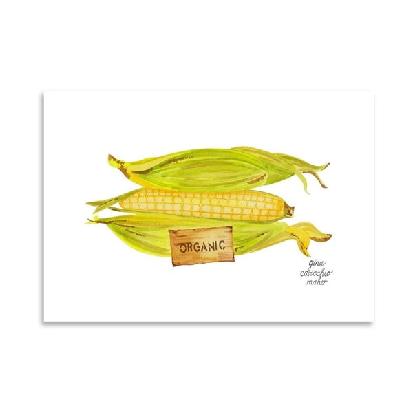 Autorski plakat Corn, 30x42 m