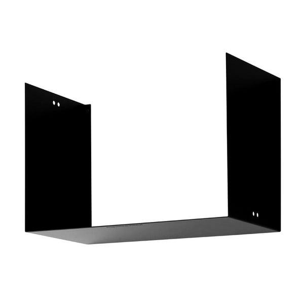 Półka Geometric Two, czarna