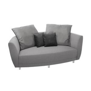 Jasnoszara sofa 2-osobowa Florenzzi Viotti