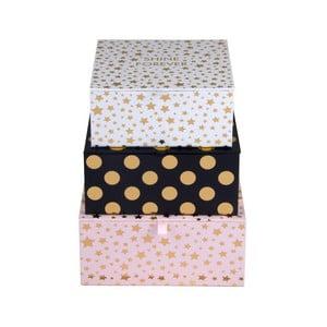 Zestaw 3 pudełek Tri-Coastal Design Dots