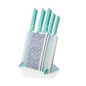 Blok z 5 nożami ceramicznymi Brandani Panarea
