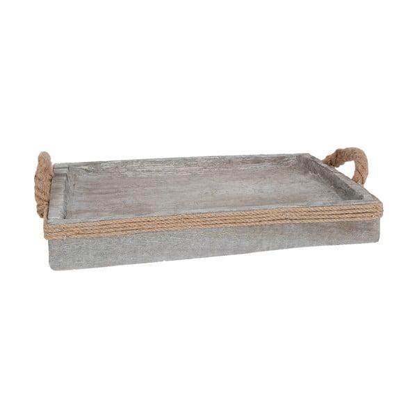 Taca drewniana Clayre & Eef, 44x36cm